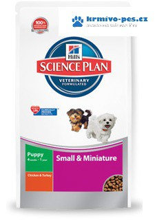 Hill's Canine Dry Puppy Small Miniature 300g