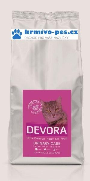 DEVORA cat GF URINARY turkey/chicken 7,5kg
