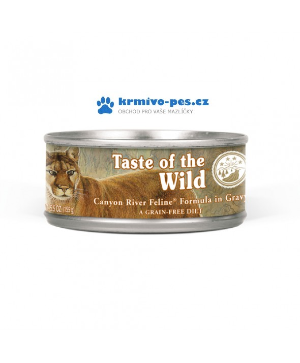 Taste of the Wild Canyon River Feline konzerva 155g