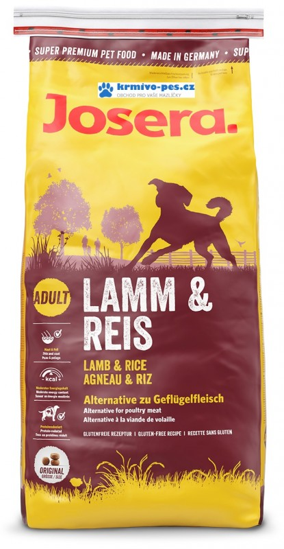 JOSERA dog LAMB/rice 15kg