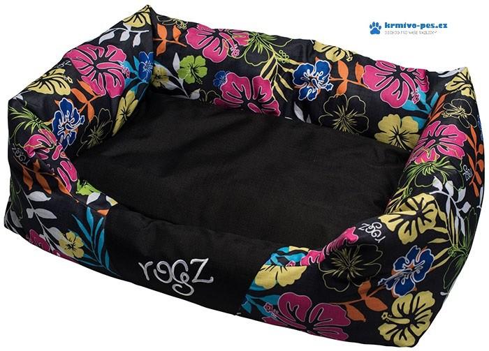 Pelech Dayglo Floral vel. L černá 88x55x26cm