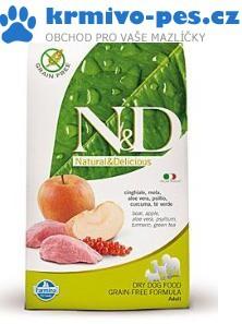 N&D GF DOG Adult Boar & Apple 800g