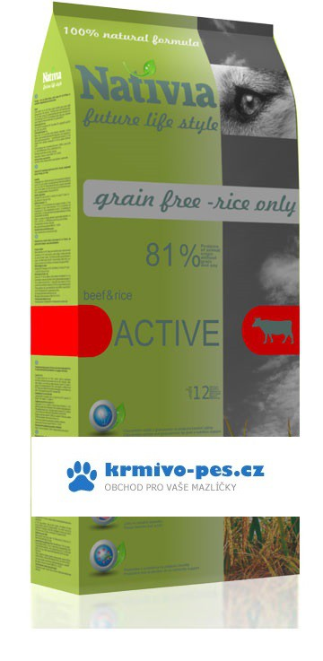 Nativia Dog Active 15kg