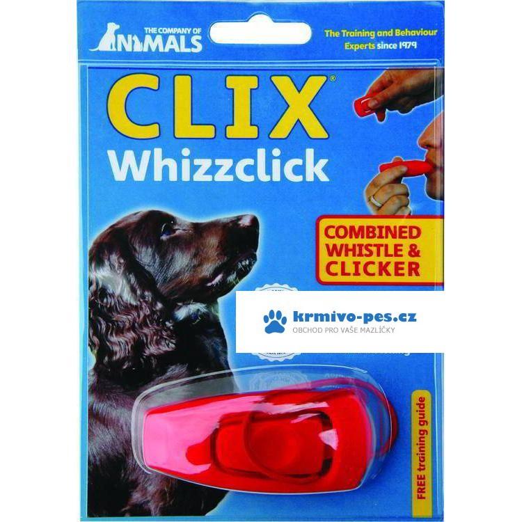 Klikr - píšťalka - 2 v 1 pro výcvik psů