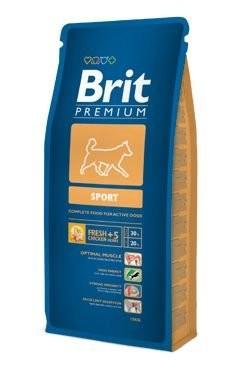 Brit Premium Dog Sport 3x15kg