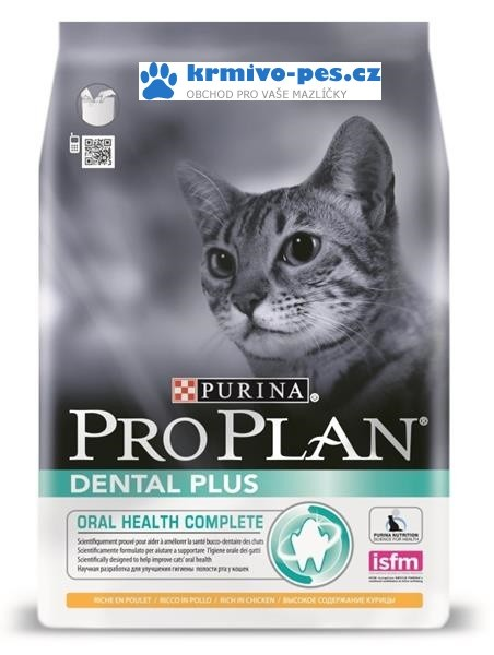 ProPlan Cat Dental Plus kuře 3kg