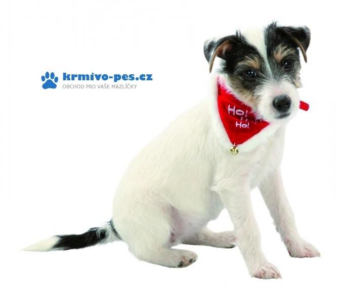 Vánoční šátek pro psa 20-30cm/15mm XS-S TR