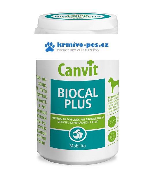Canvit Biocal Plus pro psy 1000g new + sleva pro registrované