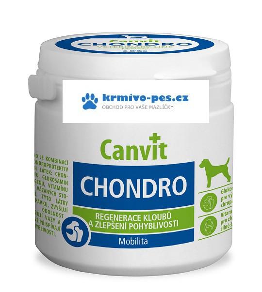 Canvit Chondro pro psy 100g new + sleva pro registrované