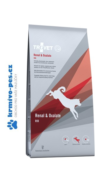 Trovet dog Renal/Oxalate RID 3kg
