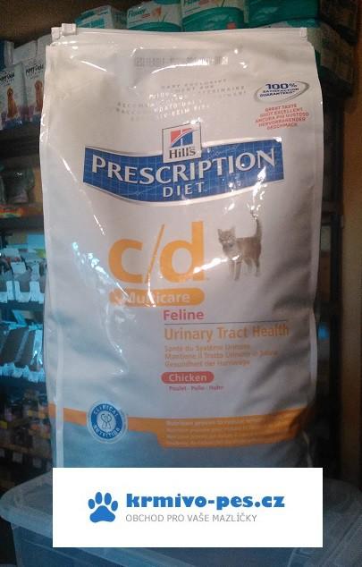 Hill's Prescription Diet cat c/d multicare/chicken 1,5kg