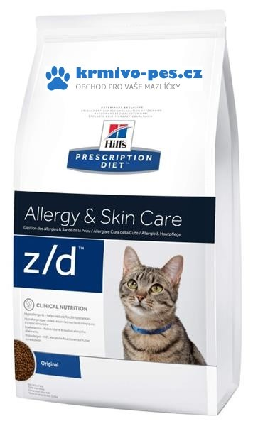 Hill's Feline Z/D Dry Low Allergen 2 kg