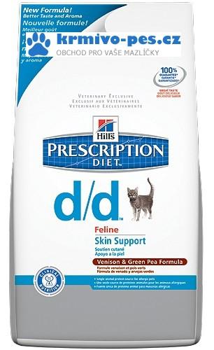 Hill's Feline D/D Dry Venison+Green Peas 1,5 kg