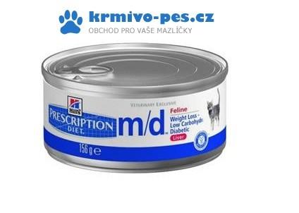 Hill's Feline M/D konzerva 156 g