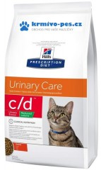 Hill's Feline C/D Dry Urinary Str. reduced calorie 8kg