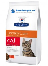 Hill's Feline C/D Dry Urinary Stress 1,5kg