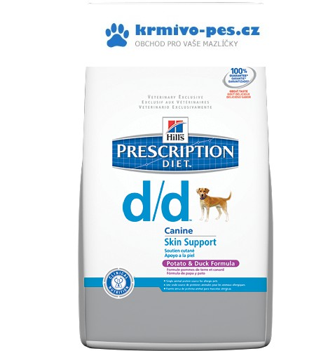 Hills Canine d/d duck/rice (dieta) 5kg