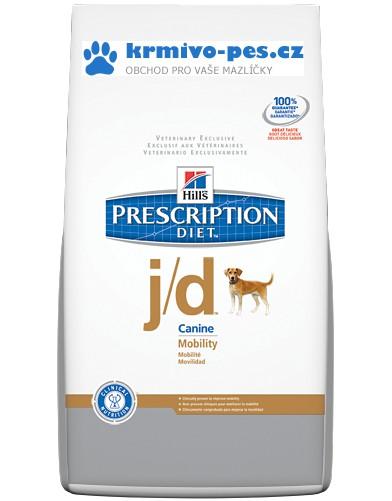 Hills Canine j/d Mobility (dieta) 12kg