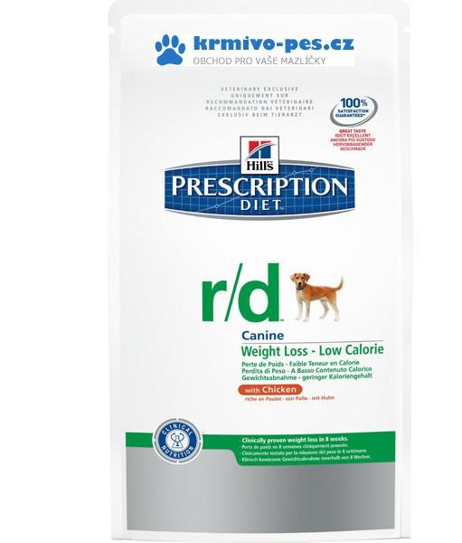 Hills Canine r/d (dieta) 12kg