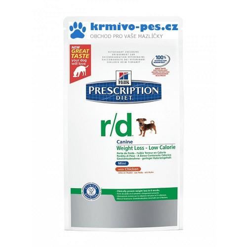 Hills Canine r/d MINI (dieta) 1,5kg