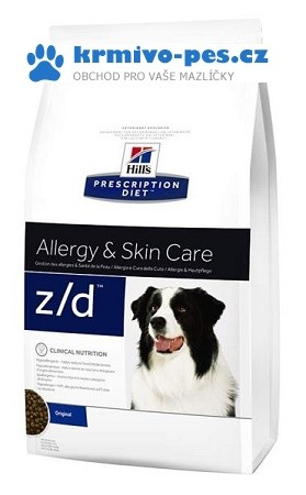 Hills Canine z/d Ultra Alergen Free (dieta) 10kg