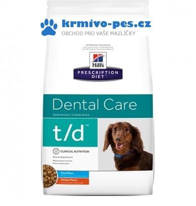 Hills Canine t/d Mini (dieta) 3kg