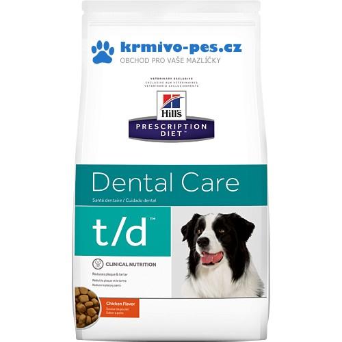 Hills Canine t/d (dieta) 3kg