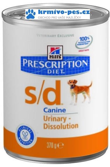 Hills Canine s/d (dieta) konzerva 370g
