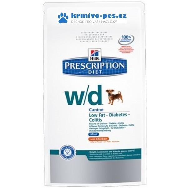 Hill's Canine W/D Dry Mini 1,5 kg