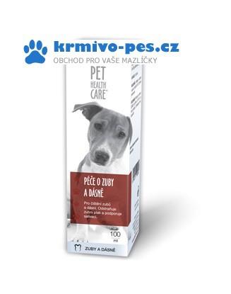 Péče o Zuby a dásně pro psy 100ml PHC
