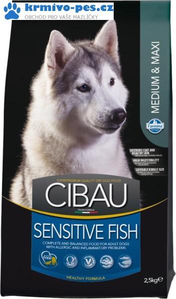 CIBAU Dog Adult Sensitive Medium&Maxi Fish&Rice 2,5kg
