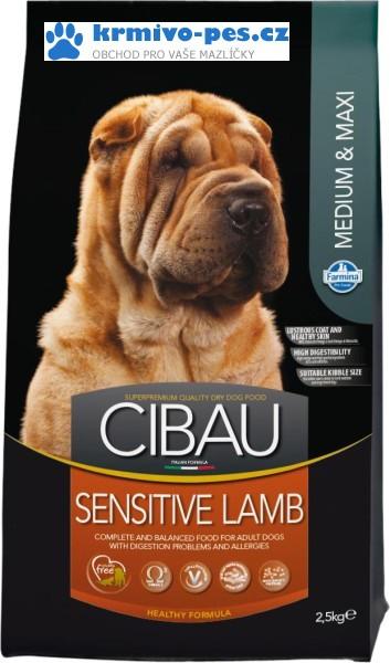 CIBAU Sensitive Lamb & Rice Medium & Maxi 2,5kg