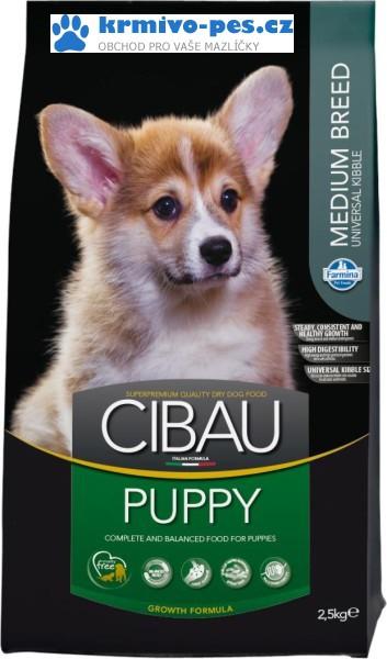 CIBAU Dog Puppy Medium 800g