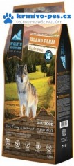 Wolf's Mountain Dog Island Farm Grain Free 12,5kg + doprava zdarma