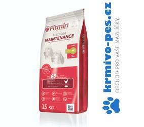 Fitmin pes Medium Maintenance 15kg (2 balení 2x15kg)