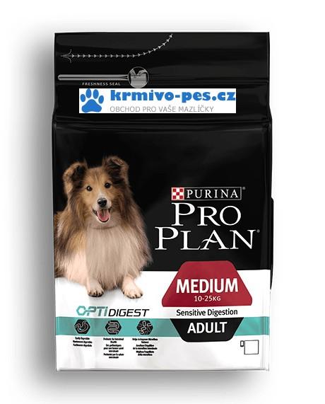 ProPlan Optidigest Dog Adult Medium Sensitive Digestion 1,5kg